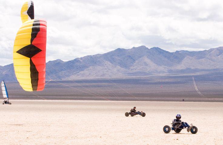 Kite buggy.