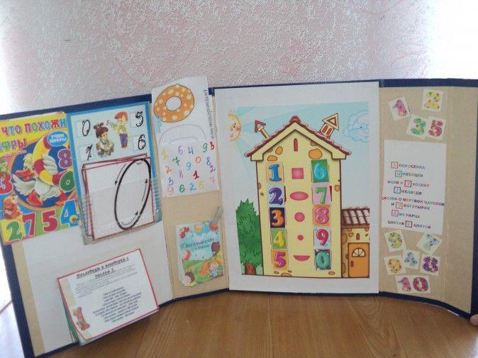 Лэпбук «Учим цифры весело» - Для воспитателей детских садов - Маам.ру