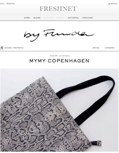 My My Copenhagen on the blog By Funda