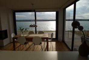 Haus am See mit Privatstrand 1 Löbnitz - Kochen mit Seeblick