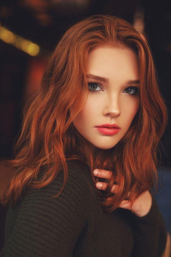 Cabelos ruivos tonalidades, produtos indicados e como cuidar | Girls with red hair, Ginger hair color, Red hair color