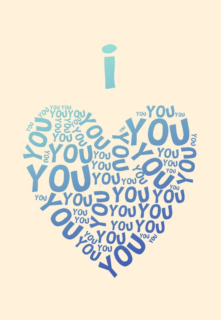 It is a photo of Ambitious I Love You Printable