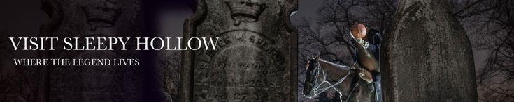 "Visit Sleepy Hollow NY ""where the legend lives"""