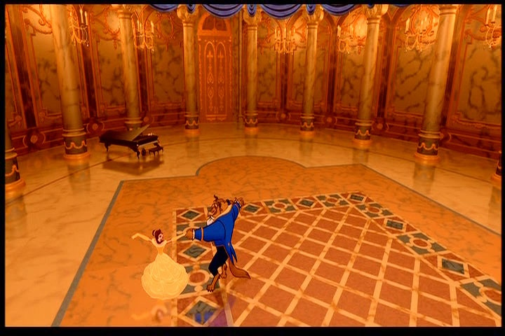 Ballroom Floor Pattern  U0026 Grand Piano Inside Castle From