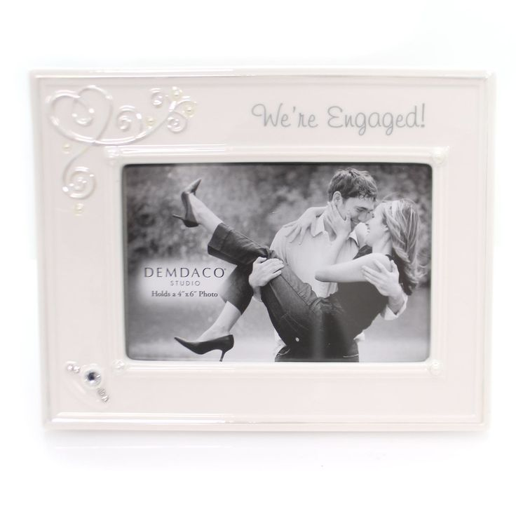 Wedding We're Engaged Frame Frame