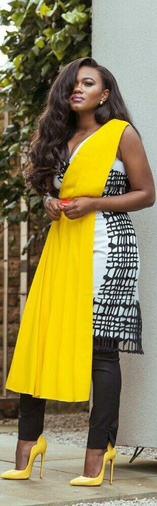 Roksanda Dress + Zara Pants / Fashion by Style Is My Thing
