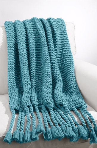 Chunky Knit Throw - traditional - throws - Nordstrom