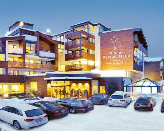 Alpen-Karawanserai Time Design Hotel, saalbach