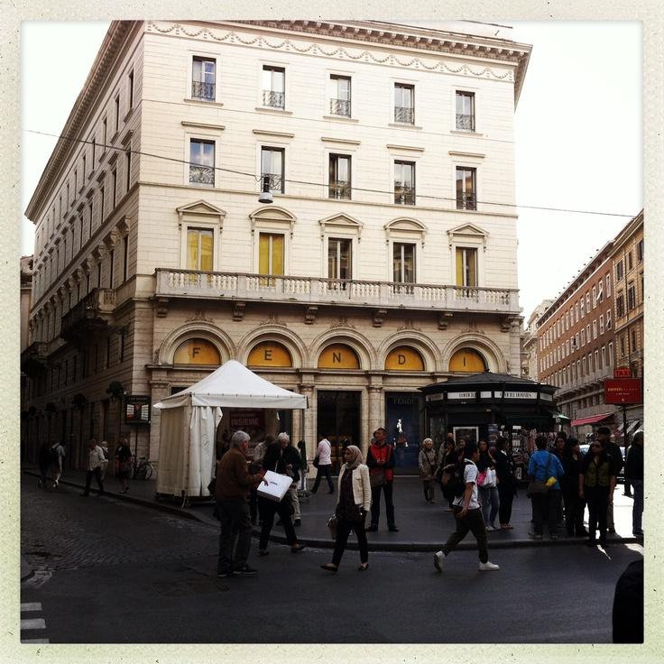 Palazzo Fendi, Roma