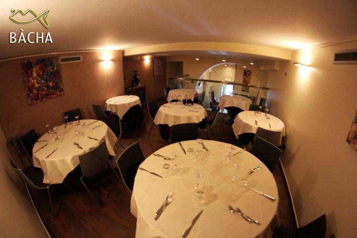 BàCha Restaurant Milano - La sala al piano superiore