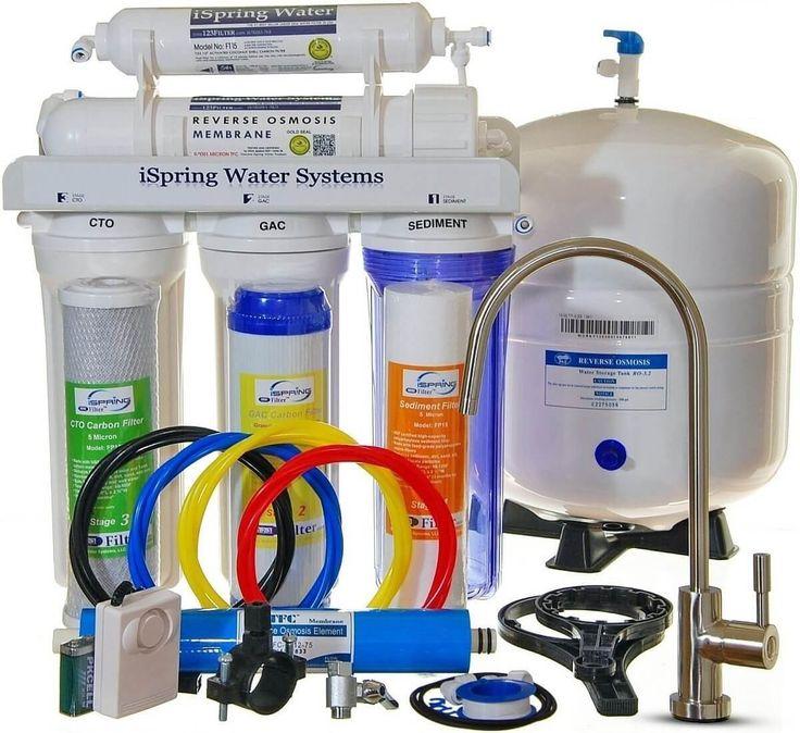 9 Stage Undersink Reverse Osmosis + Alkaline Mineral Water Filter System 75GPD