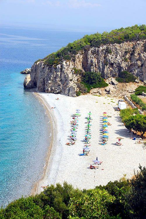 Tsambou Beach, Samos Island  | by imagesofgreece