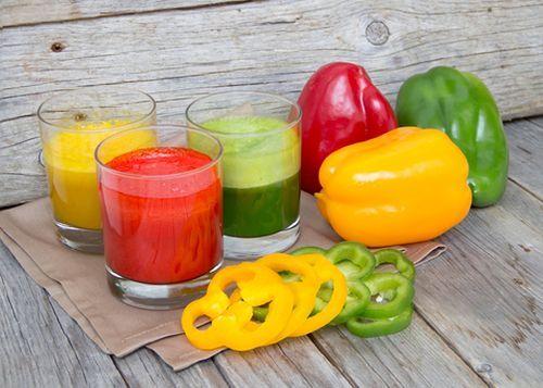 Het Paprika dieet inclusief Paprika Smoothie Recept