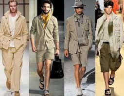 Resultado de imagen para moda safari hombre