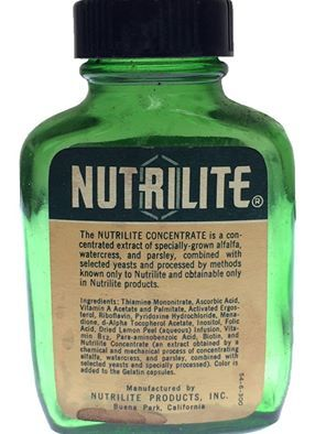 Image result for nutrilite XX vintage
