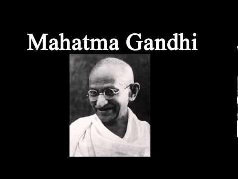 BIOGRAFÍA DE MAHATMA GANDHI - famosos, personajes historicos, vida, resumen - YouTube