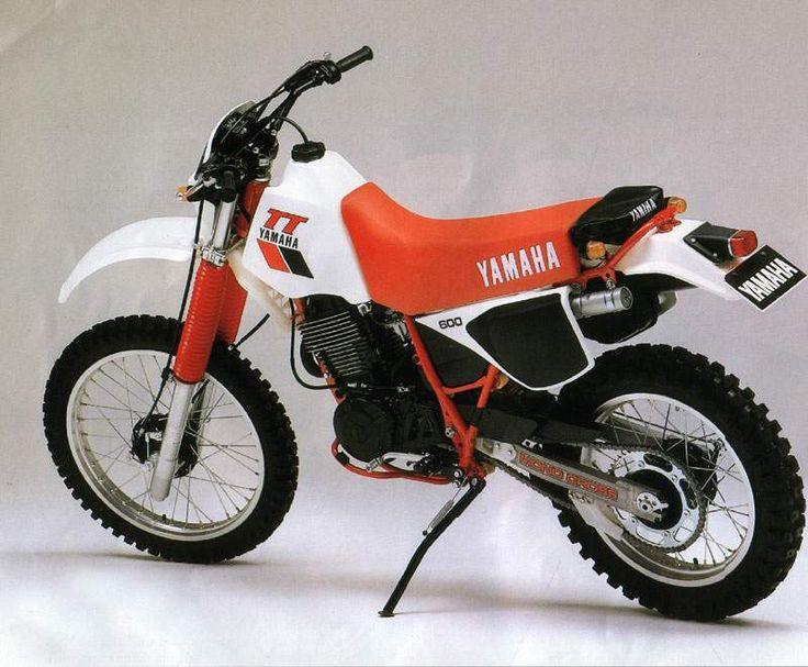 Yamaha Tt600 Wiring Diagram : Yamaha tt in two wheels pinterest models