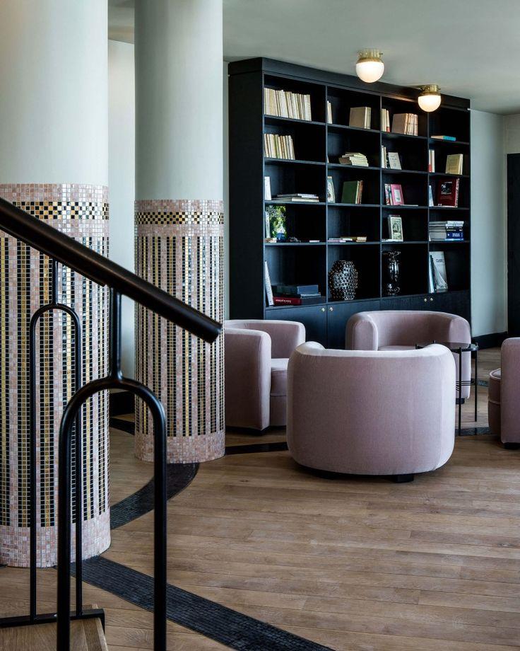 salon htel hotel de luxe castelbrac dinan made by james agencement made by la - Salon De Luxe