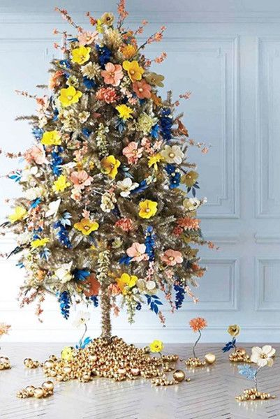 Floral Ornaments - These Holiday Decor Instas Are So Festive - Photos