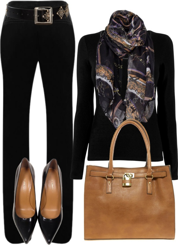 """""""No. 74 - Black is beautiful"""" by hbhamburg ❤ liked on Polyvore"""