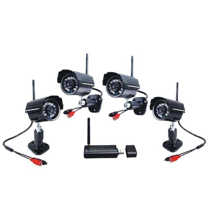Compact Wireless Camera Security