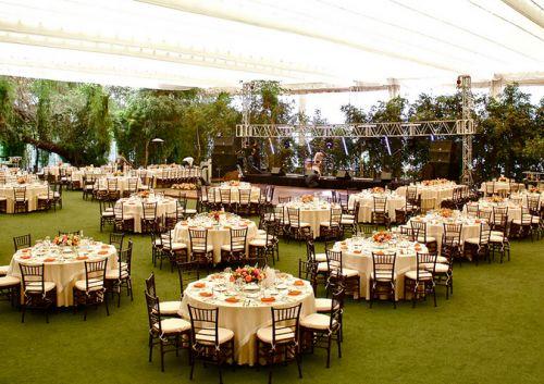 mesas para bodas en jardin - Buscar con Google