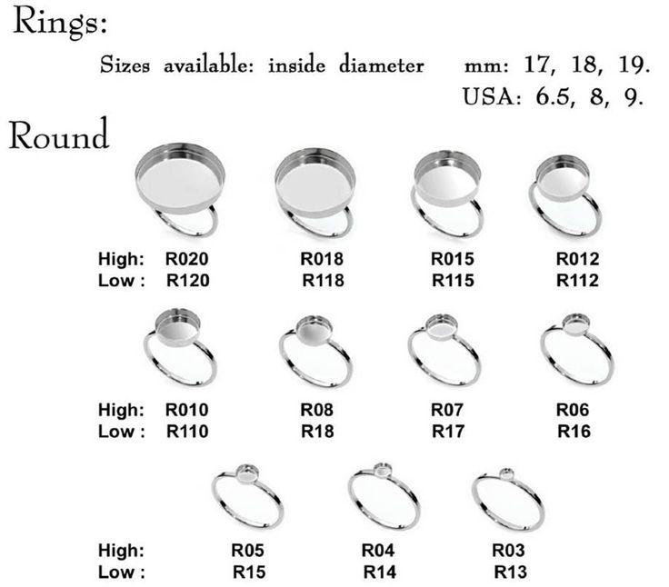 Artikel: Ring mit Lünette cup Menge: 2 St Größe: Ab Runde 3mm bis 20mm Ring-Größen erhältlich: ab Größe 5 bis Größe 9 Form: rund Material: 925 Sterling silber - Stempel Tiefe: 1mm (niedrige Mauer) oder 2-3.5 mm (hohe Wand) Farbe: Glänzend Silber Beenden: SH  MADE IN ISRAEL  Auch erhältlich in den Größen: 3mm 4mm 5mm 6mm 7mm 8mm 10mm 12mm 15mm 18mm 20mm   ___Additional Informationen: * Großhandel: Wir bieten individuelle Angebote und Mengenrabatte für Großhändler. Bitte kontaktieren Sie uns…