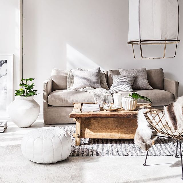 Light & bright... @indiehomecollective all items available in store. #indieliving #ayilluminate #broste #willowsofa
