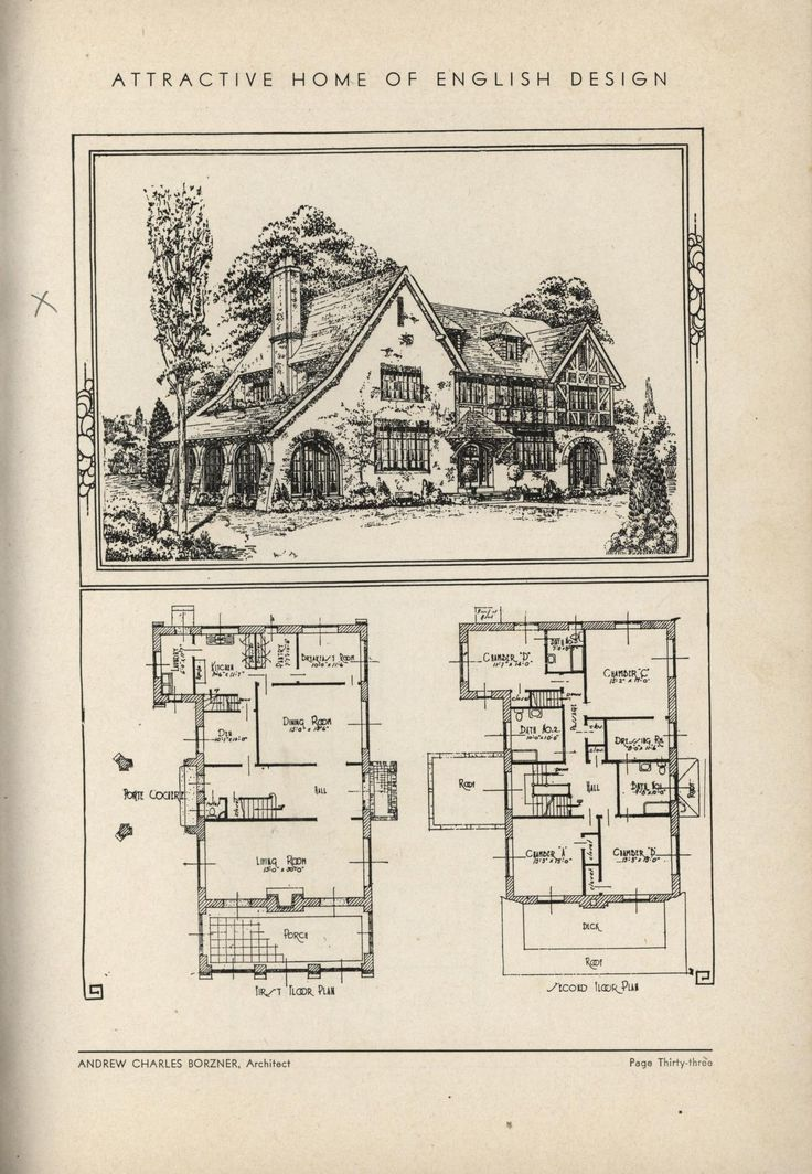 1000+ images about VinTagE HOUSE PlanS~1930s on Pinterest
