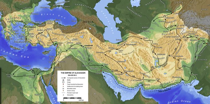 The Macedonian Empire of Alexander the Great