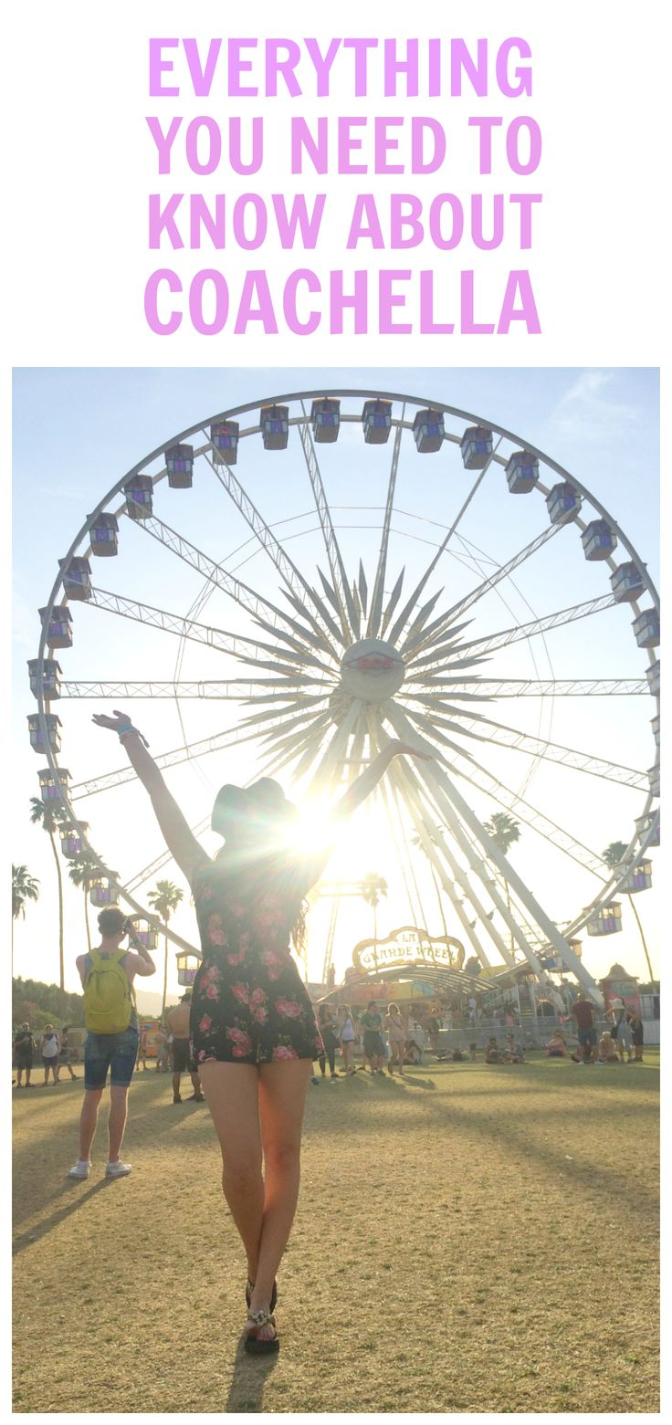 READ THIS BEFORE YOU ATTEND COACHELLA! | Fashion and beauty blogger Mash Elle attended Coachella and she recaps her tips and tricks to fashion, safety, fun and planning all things COACHELLA!
