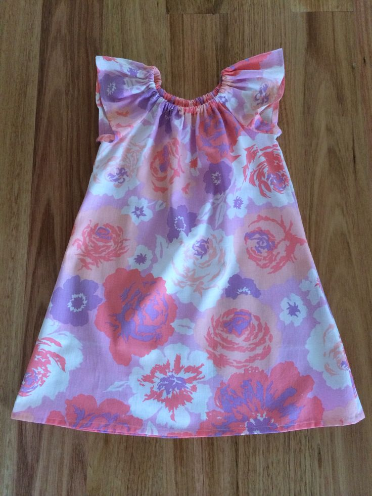 Sweet Vintage Fabric little girls dress by Milly & Mack