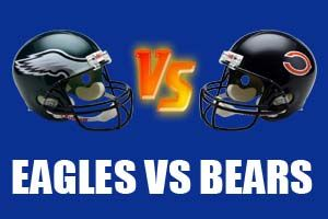 Philadelphia Eagles vs Chicago Bears Live NFL Streaming