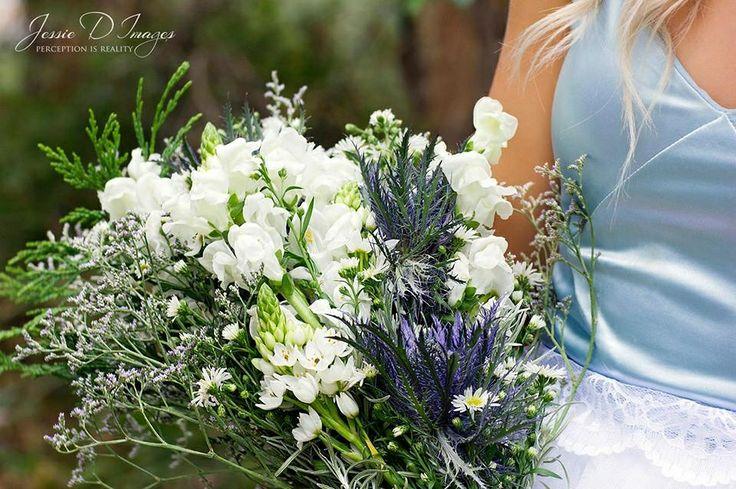 Wonderland Alice's bouquet.