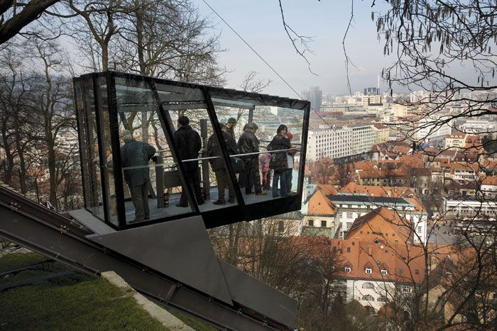 tourism + funicular | The Ljubljana Castle Funicular was awarded one of the two gold medals ...