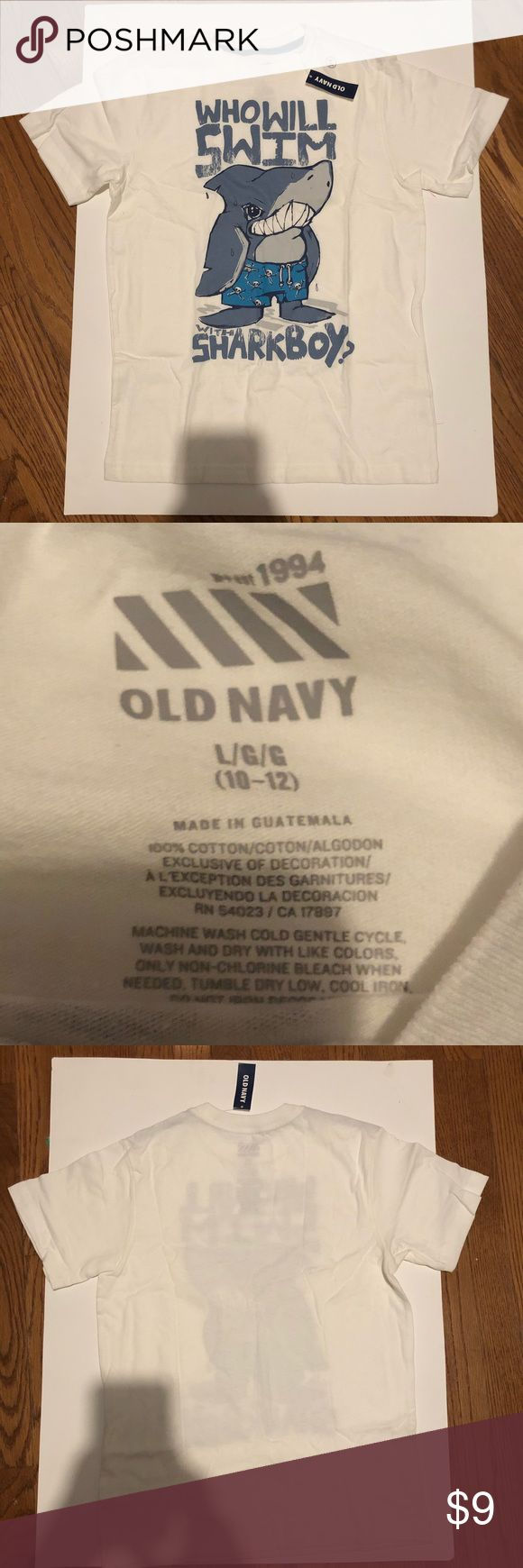 Old navy Boy t-shirt Old Navy boy T-shirt brand new. Size L (10-12) Old Navy Shirts & Tops Tees - Short Sleeve
