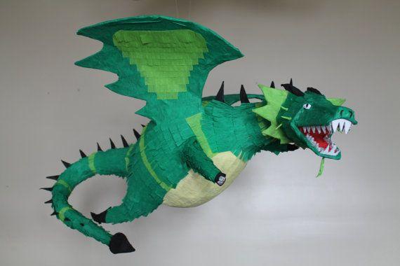 Dragon Pinata by TheKidCorner on Etsy