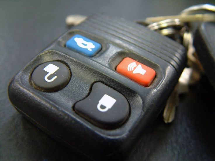 Image result for car keys alarm warning button