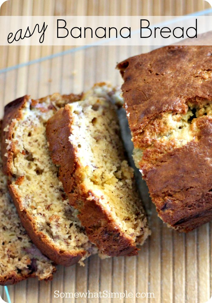 The best banana bread recipe - this one won't come out dry!