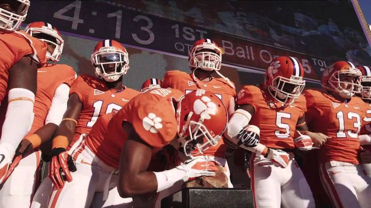 "Clemson Football ""The Hill""  - it gives me chills every time!"