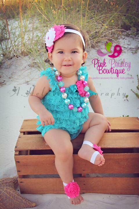 A personal favorite from my Etsy shop https://www.etsy.com/listing/287165577/aqua-1st-birthday-beach-photos-birthdayAqua 1st Birthday, Beach Photos, birthday outfit, Pink & Turquoise Cake Smash Outfit, Baby Girl Birthday Pictures, Baby Girl Birthday Party