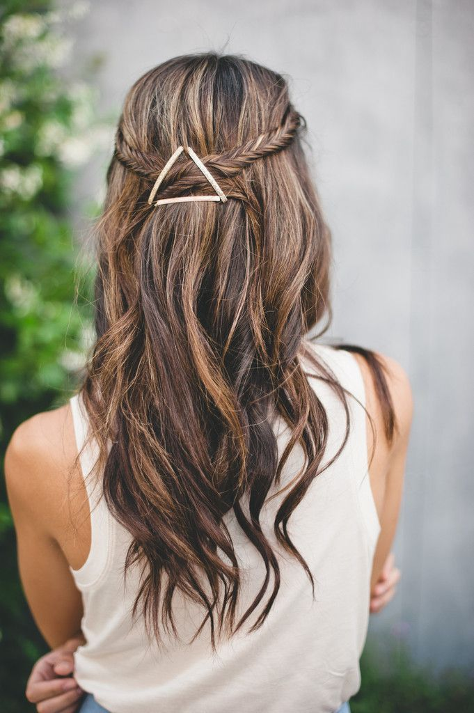 Stupendous 1000 Ideas About Bobby Pin Hairstyles On Pinterest Hairstyles Hairstyles For Women Draintrainus