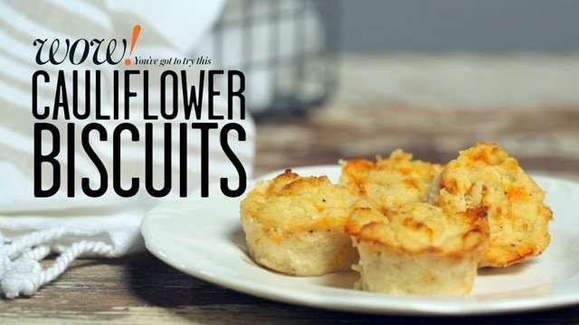 ✓ Cauliflower Biscuits
