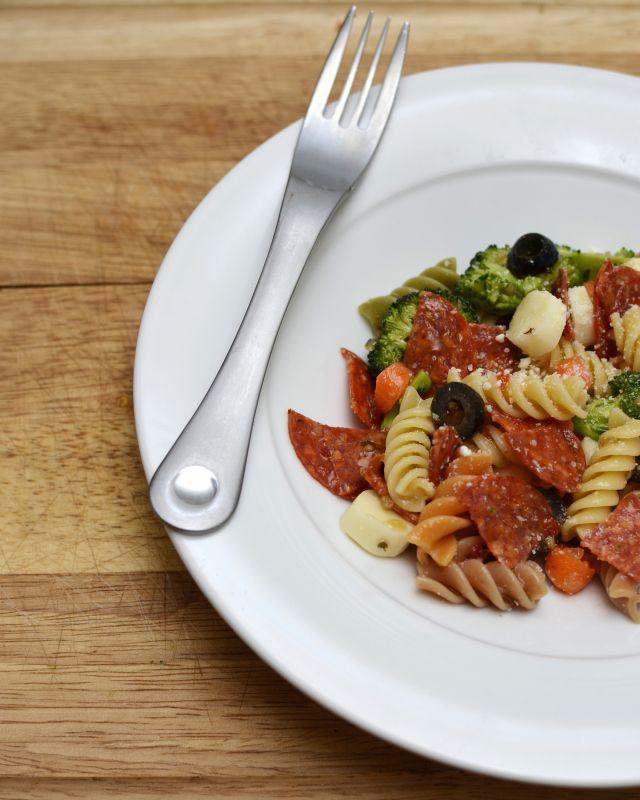 Pasta salad recipe using pepperoni