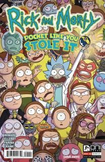 ComicList Preview: RICK AND MORTY POCKET LIKE YOU STOLE IT #1