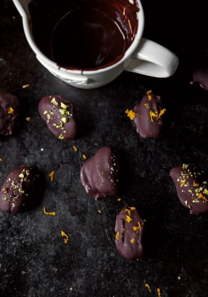 Dattes au chocolat
