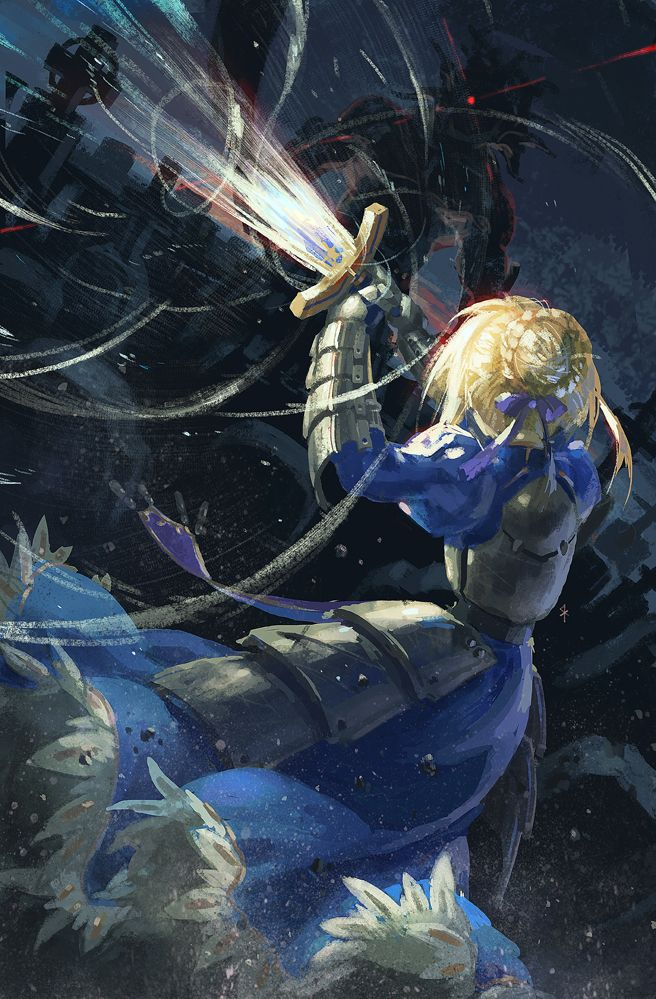 Saber Arturia Pendragon - Fate/Zero & Fate Stay Night #FTN #FZ