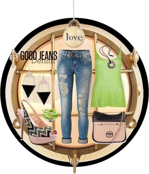 """""""Good Jeans: LTB Jeans"""" by anmarga ❤ liked on Polyvore"""