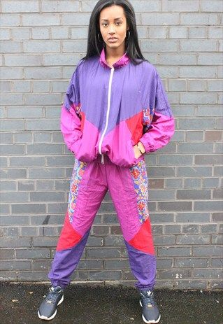 Vintage 90 S Tracksuit Just Let Them Wear The Pants In