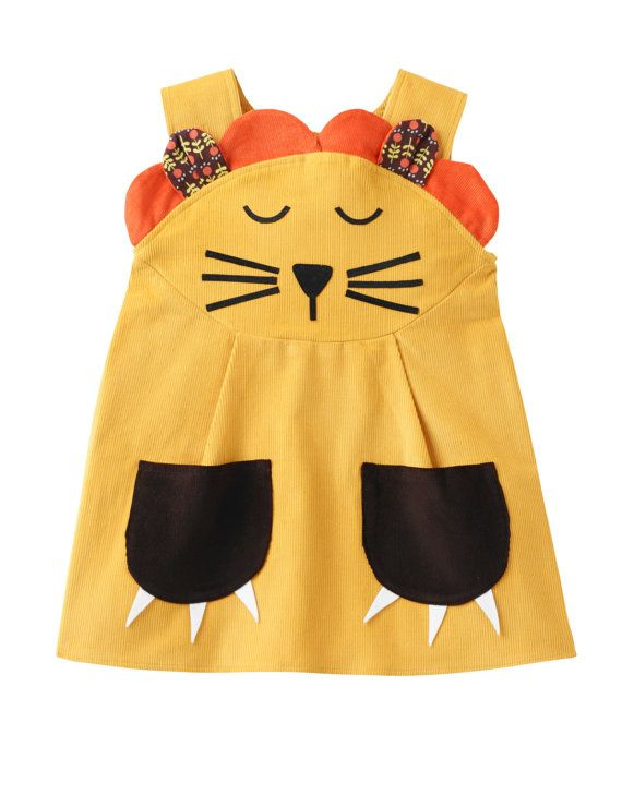 girls dressbaby dress lion costumewild things by wildthingsdresses